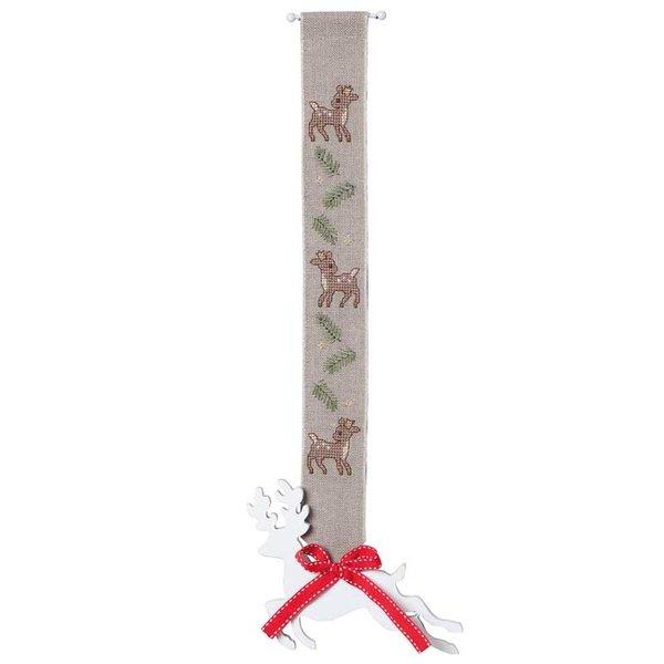 Rico Design Stickpackung Behang Rehkitz natur 4x36cm