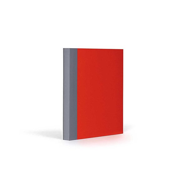 FANTASTICPAPER Notizbuch A6 kariert cherry-grey