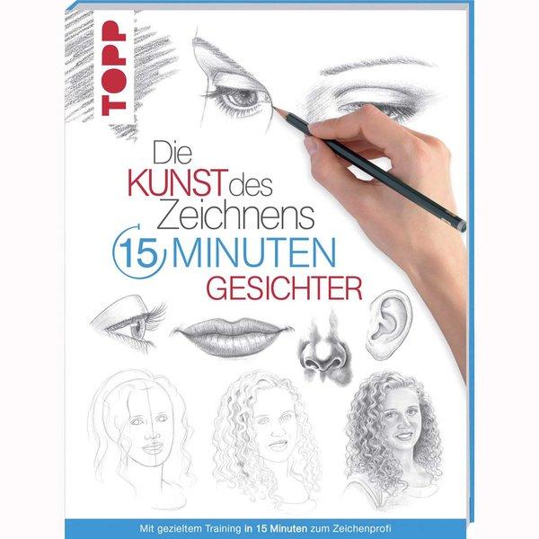 TOPP Die Kunst des Zeichnens 15 Minuten - Gesichter