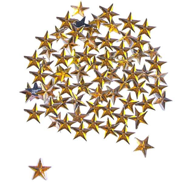 Rico Design Strass Sterne gold ca. 100 Stück