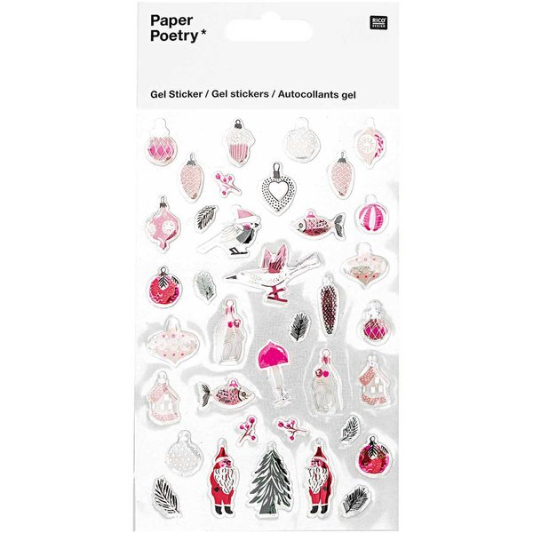 Paper Poetry Gelsticker Nostalgic Christmas pastell