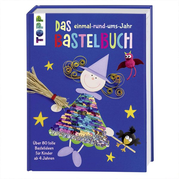TOPP Das einmal-rund-ums-Jahr Bastelbuch