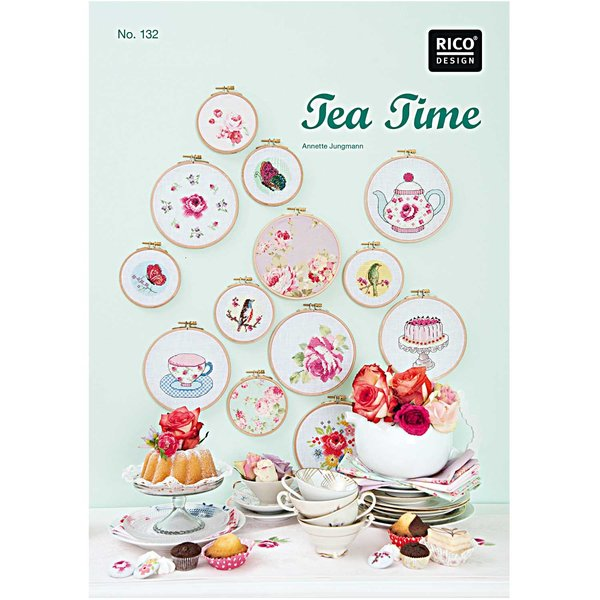 Rico Design Stickbuch Tea Time Nr.132