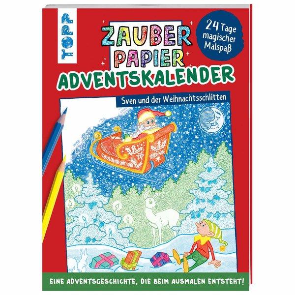 TOPP Zauberpapier Adventskalender