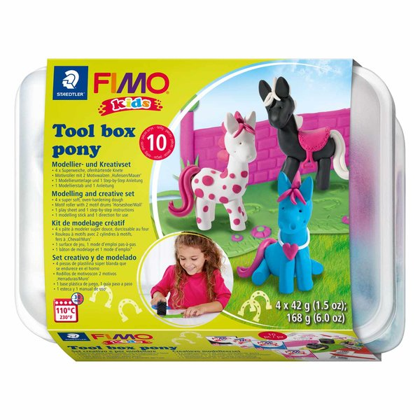 FIMO Kids Spielbox Pony 10teilig