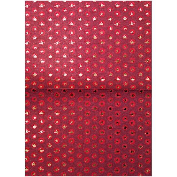 Rico Design Paper Patch Papier Sterne Jolly Christmas 30x42cm
