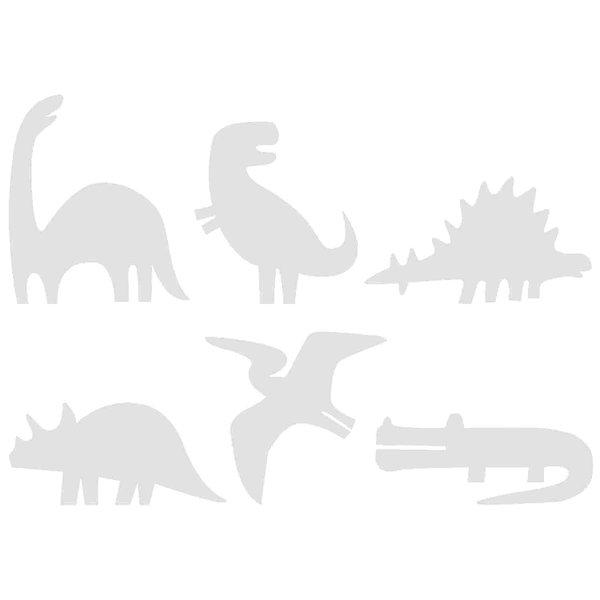 Rico Design Cardboardset Dinosaurier 6 Stück
