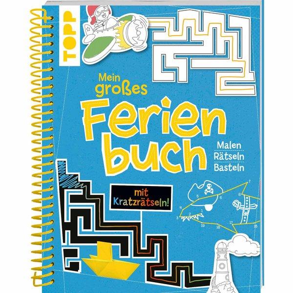 TOPP Mein großes Ferienbuch - blau