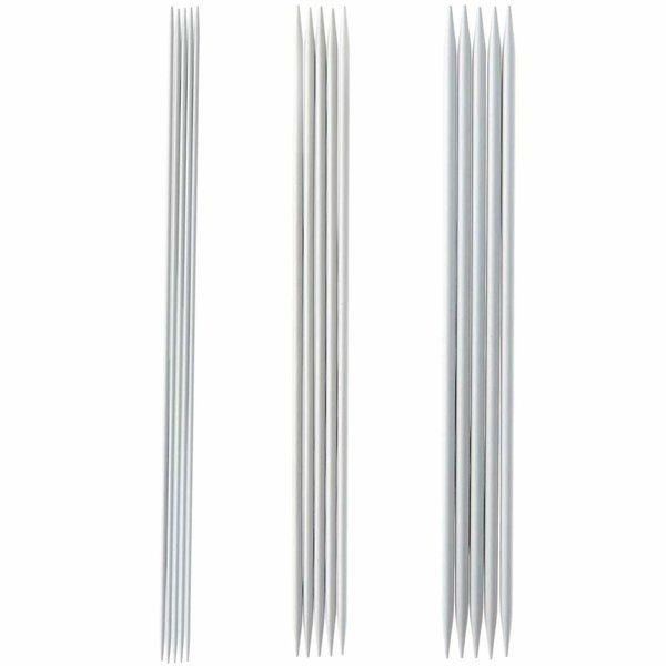 Rico Design Nadelspiel 20cm Aluminium