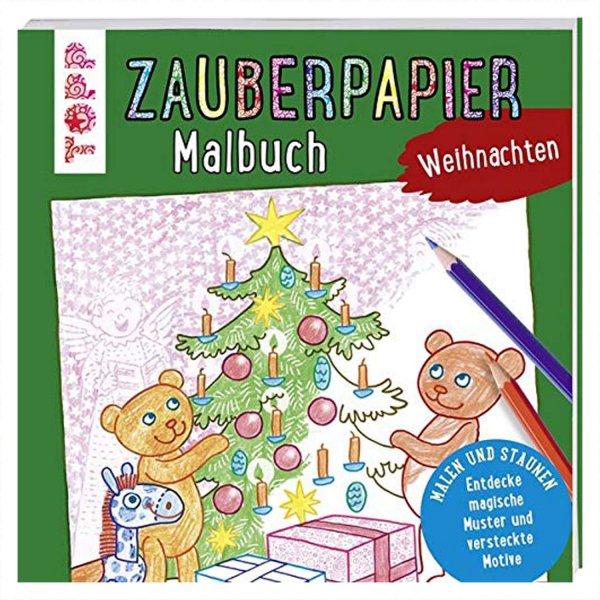 TOPP Zauberpapier Malbuch Weihnachten