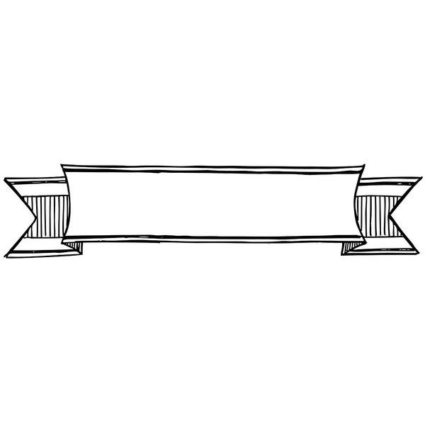 Rico Design Stempel Banner 9,5x2,5cm