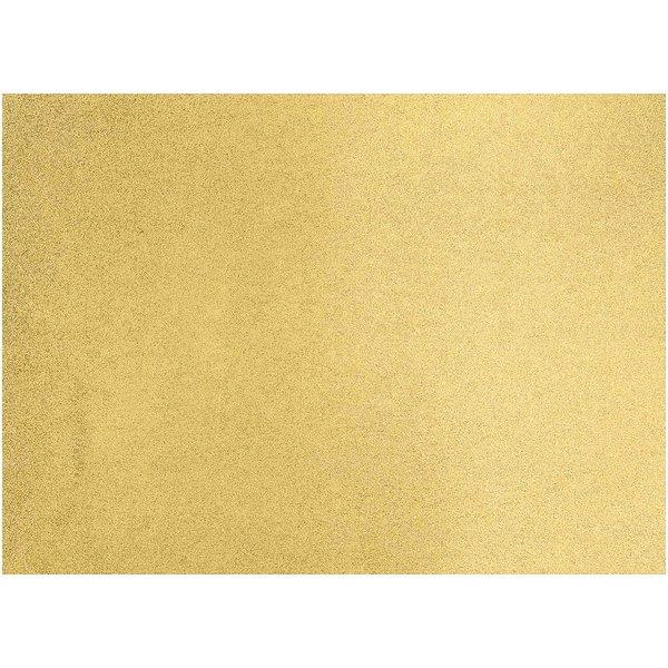 Paper Poetry Motivkarton Glitter gold 50x70cm
