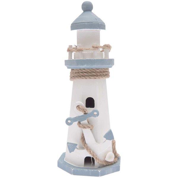 Ohhh! Lovely! Leuchtturm aus Holz 8,5x8,5x22,5cm