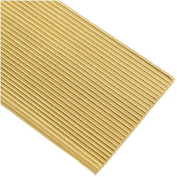 efco Wachsstreifen flach gold 20cm 29 Stück