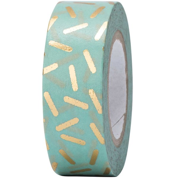 Paper Poetry Tape Stracciatella gold 15mm 10m Hot Foil