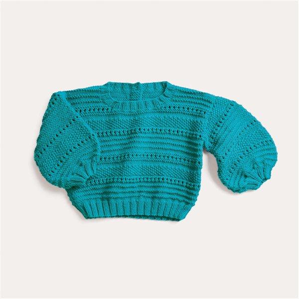 Strickset Pullover Modell 14 aus Baby Nr. 32