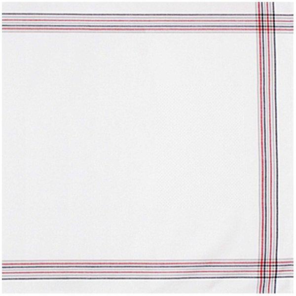 Rico Design Läufer schwarz-rot gestreift 50x140cm