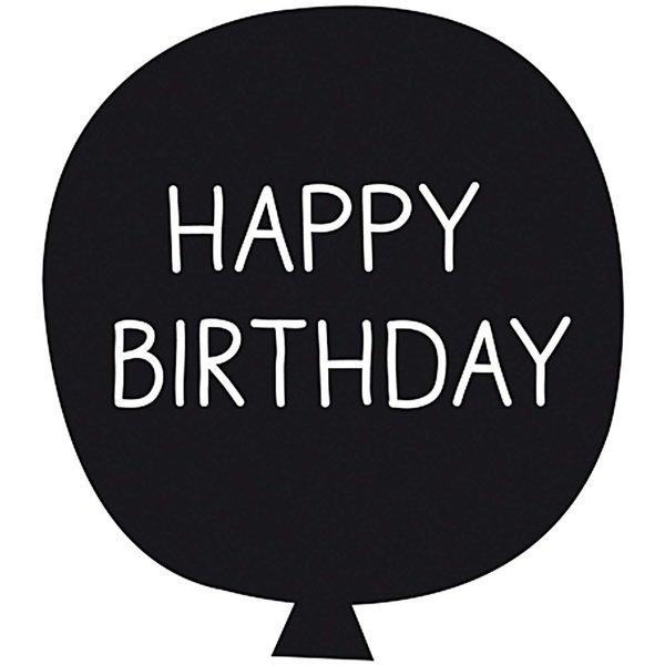 Rico Design Stempel Ballon Happy Birthday 4x4cm