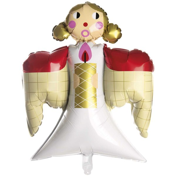 YEY! Let's Party Folienballon Engel 57,5x67cm