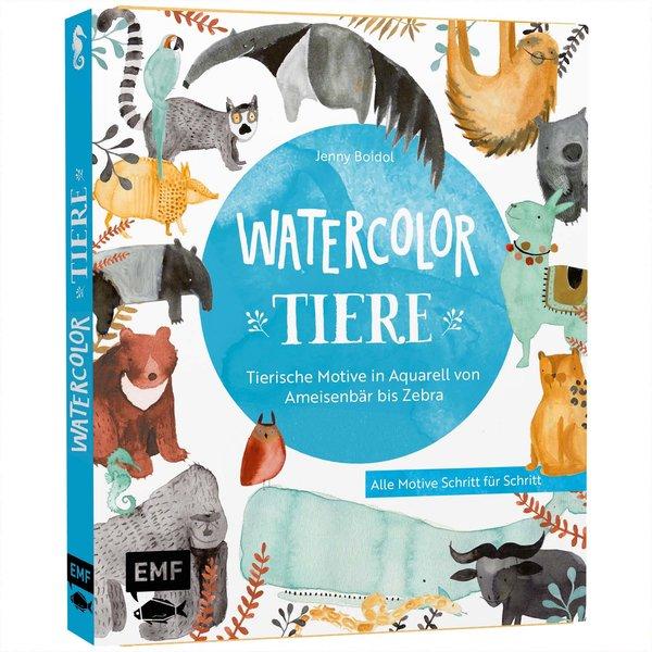 Watercolor-Tiere