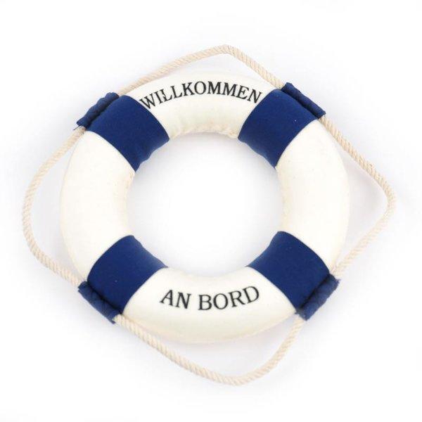 Rettungsring blau-weiß 14cm