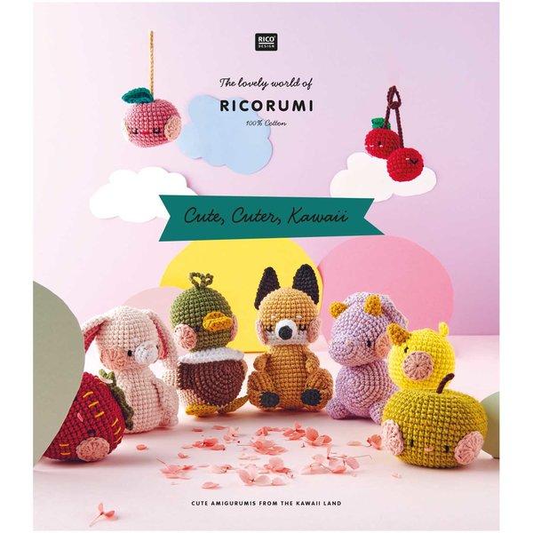 Rico Design Ricorumi Cute, Cuter, Kawaii Englisch