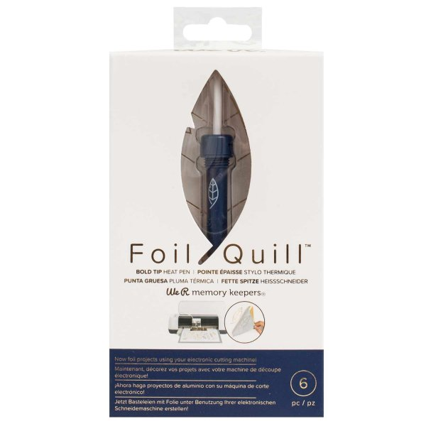 We R Memory Keepers Foil Quill dicke Spitze für Plotter 2,5mm