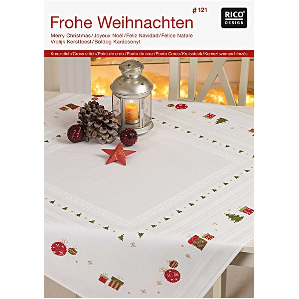 Rico Design Stickbuch Nr.121 Frohe Weihnachten