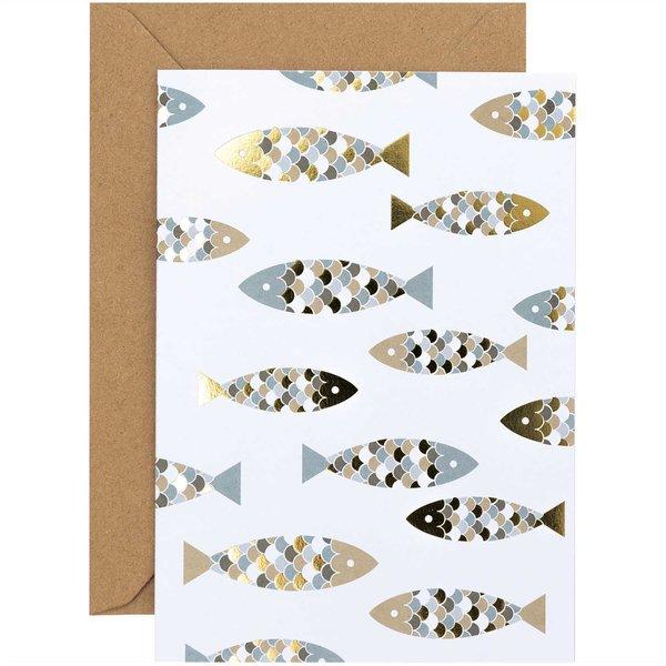 Paper Poetry Kartenset Fische 20teilig