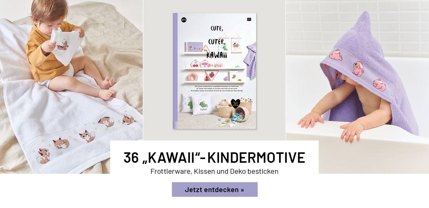 Stickbuch Kawaii