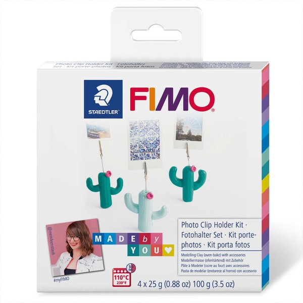 Staedtler FIMO Set Kaktus-Fotohalter