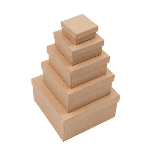 Rico Design Quadratbox natur