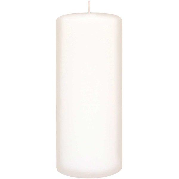 Kopschitz Stumpenkerze weiß 20x8cm
