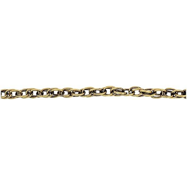 Jewellery Made by Me Gliederkette gold antik 9mm 1m