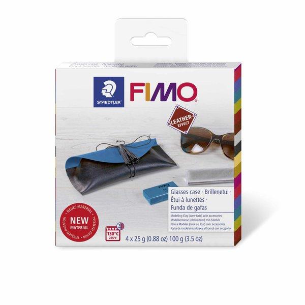 Staedtler FIMO Leather effect Set Brillenetui