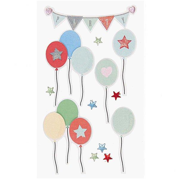 Paper Poetry 3D Sticker Luftballons