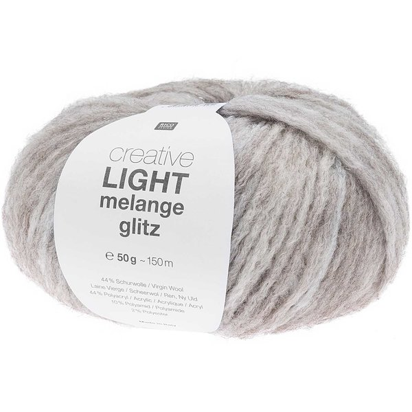 Rico Design Creative Light Melange Glitz 50g 150m