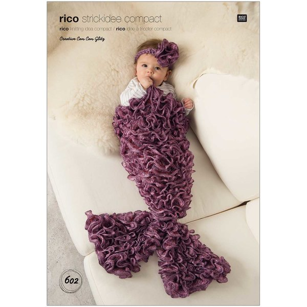 Rico Design Strickidee compact Nr.602 Mermaid Baby