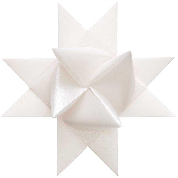 Paper Poetry Fröbelstreifen Transparentpapier silber M+L 40 Stück
