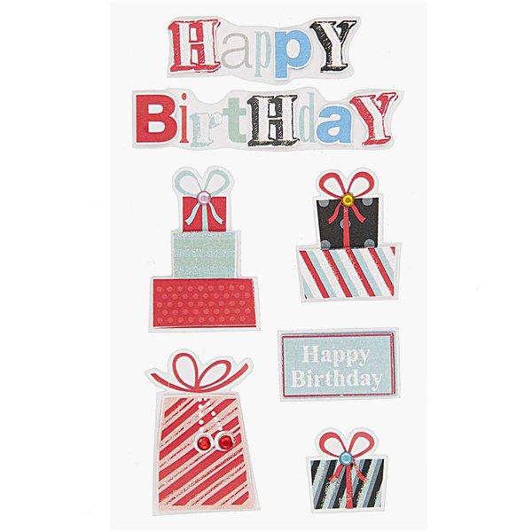 Paper Poetry 3D Sticker Geburtstagsgeschenk