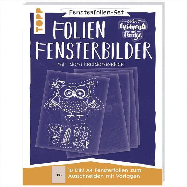 TOPP Fensterfolien-Set: DIN A4