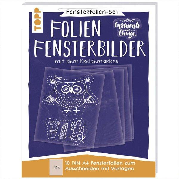 TOPP Fensterfolien-Set: DIN A4