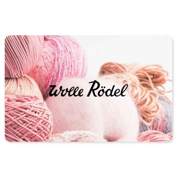 Wolle Rödel Geschenk-Karte