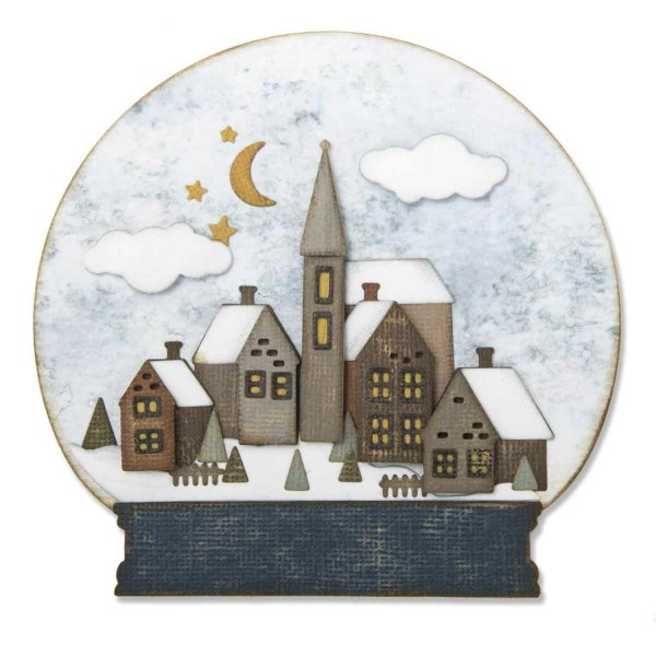 Sizzix Thinlits Die Set Snowglobe #2