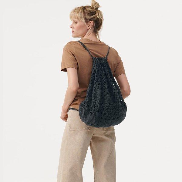 Häkelset Beutel in Schwarz aus Crochet Collection