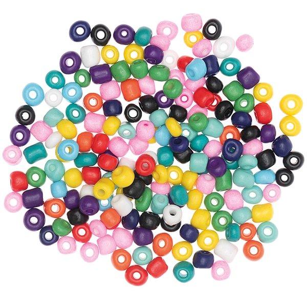 Jewellery Made by Me Keramikperlen natur multicolor 5mm 30g