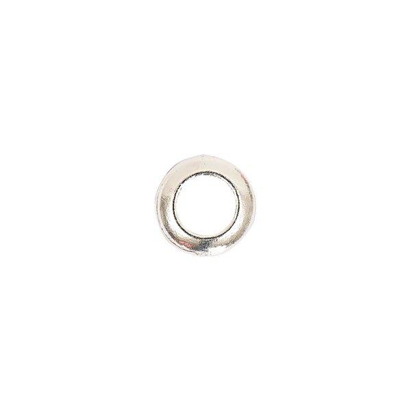 Jewellery Made by Me Rondell glatt silber 9x3mm 5 Stück
