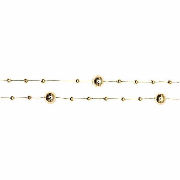 Girlande mit Perlen 180cm