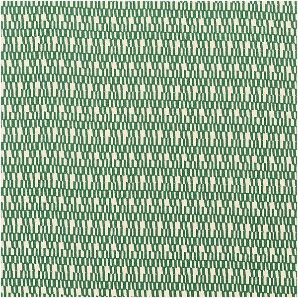 Rico Design Druckstoff Jardin Japonais Striche creme-grün 50x140cm