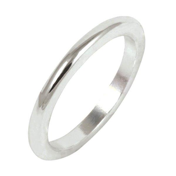 Rico Design Ring schlicht Kante rund 16mm